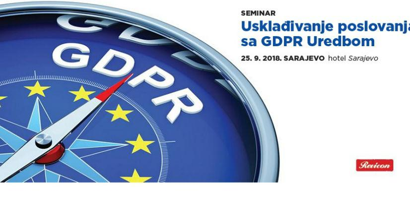 Revicon seminar: Usklađivanje poslovanja sa GDPR Uredbom