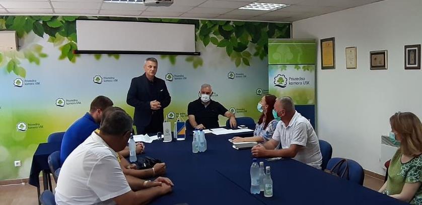 PK USK potpisala sporazum o suradnji sa Udruženjem poduzetnika Velika Kladuša