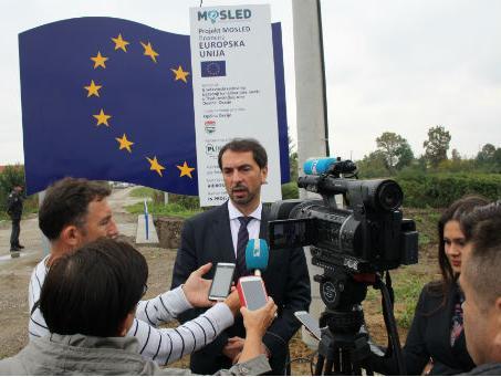 U rad pušten kanalizacijski sustav u Poduzetničkoj zoni Dusine