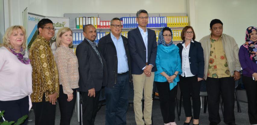 Posjeta privrednika Republike Indonezije firmi Delta trade doo u Zenici