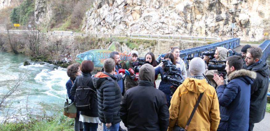 Ekolozi protiv hidroelektrana na Vrbasu