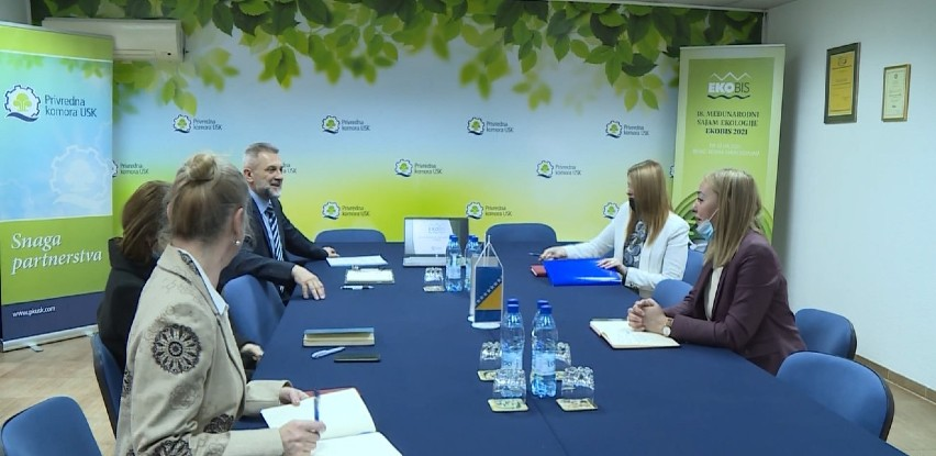 Novoimenovana kantonalna ministrica privrede posjetila Privrednu komoru USK