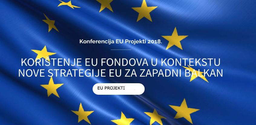 Konferencija 'EU PROJEKTI 2018' 14. septembra u Mostaru
