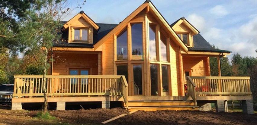 Velika potražnja za drvenim kućama