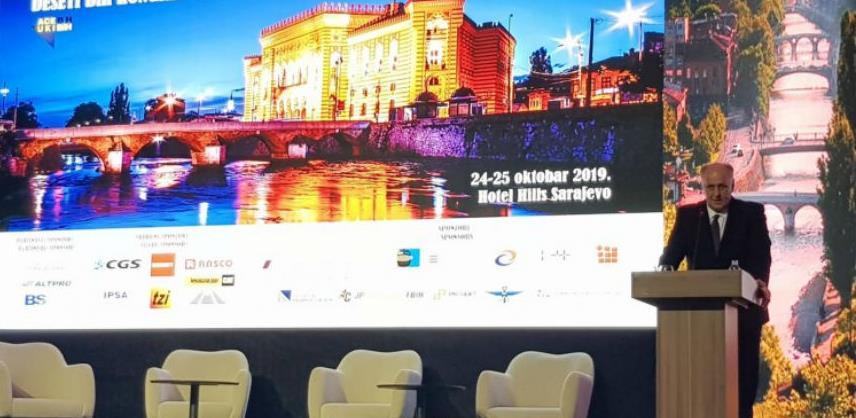 Dalipagić otvorio Deseti bh. kongres o prometnoj infrastrukturi i prometu