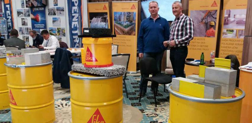 Kompanija Sika BH na Sferi 2019. predstavila savremena građevinska rješenja