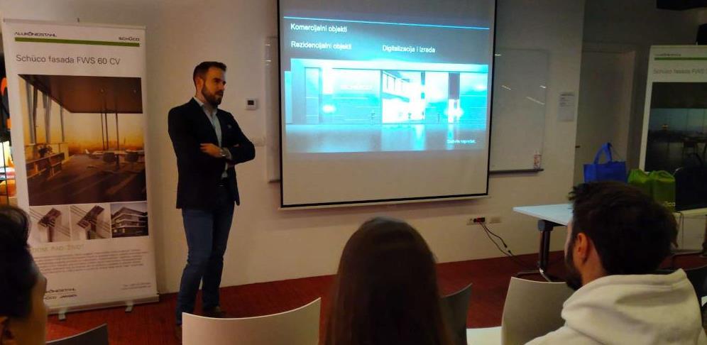 Alukönigstahl mladim arhitektama u Sarajevu predstavio inovacije sa sajma BAU