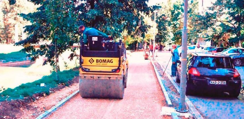 U toku izgradnja šetnice lijevom obalom Miljacke