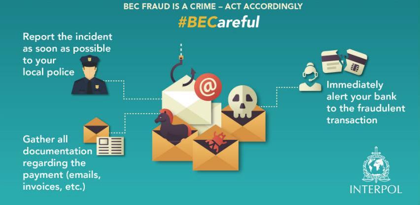 Policija upozorila bh. firme na prevare putem e-maila