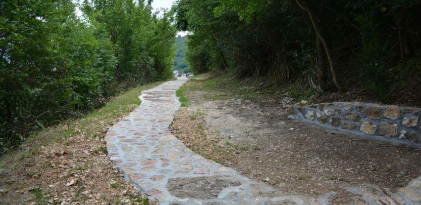 Završena revitalizacije historijskog puta do Kozije ćuprije