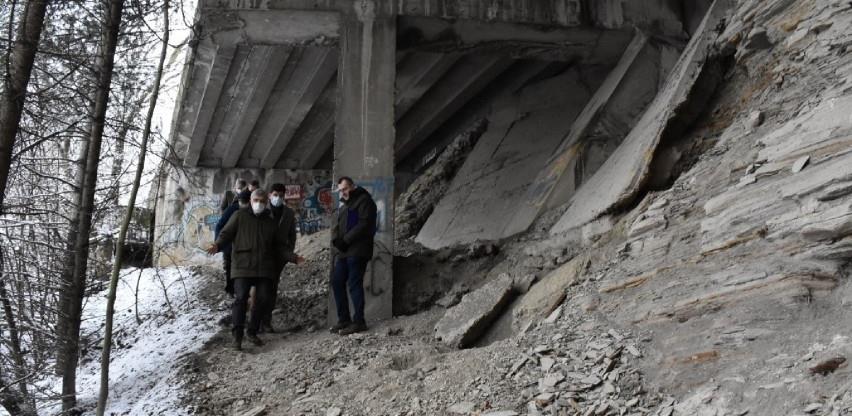 Najprioritetniji projekt Općine Centar: Sanacija klizišta u Ulici Hakije Kulenovića