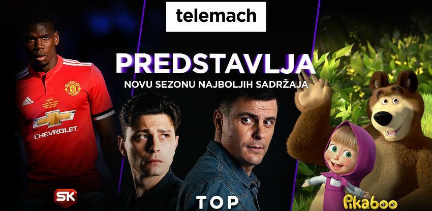 Telemach predstavlja nove vrhunske sadržaje i ukida doplatu za HD kanale