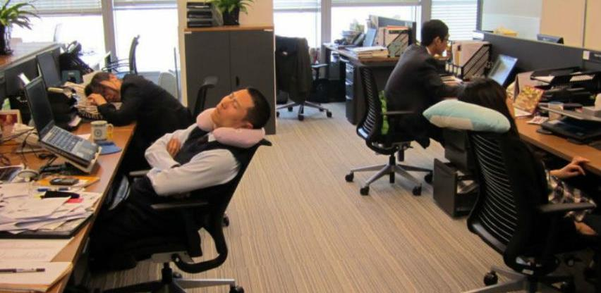 Spavanje na poslu obavezno u Japanu
