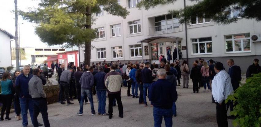 Radnici Vitezita protestvovali u Vitezu
