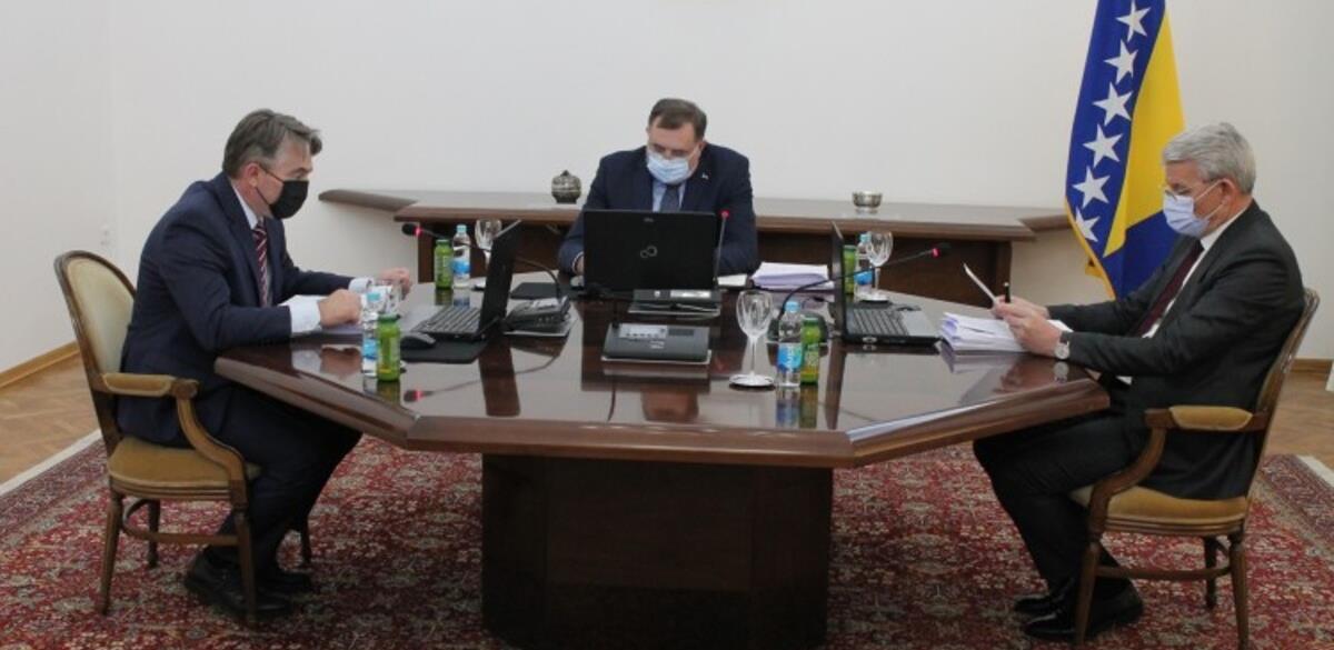 Predsjedništvo BiH usvojilo budžet za 2021. godinu