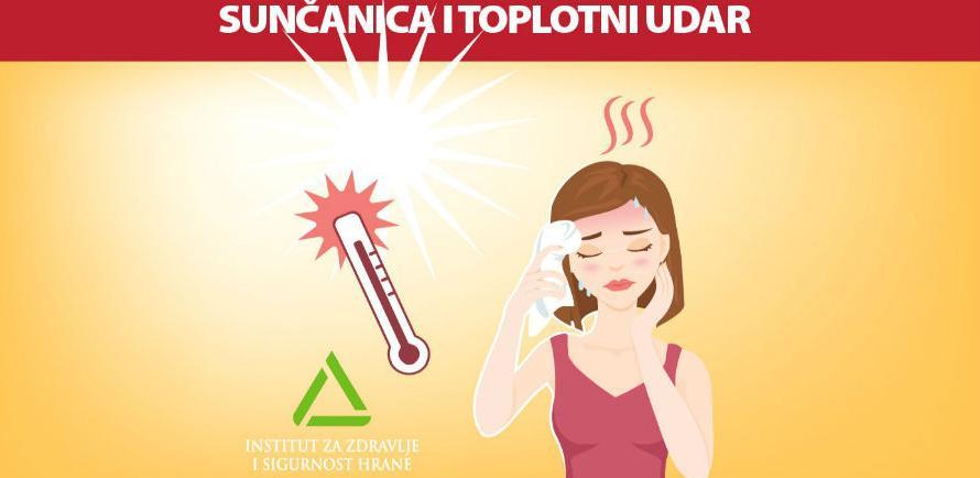 INZ: Sunčanica i toplotni udar