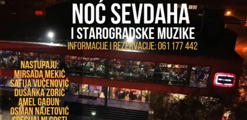 "Noć sevdaha i starogradske muzike u Multiplexu ""Ekran"" Zenica"