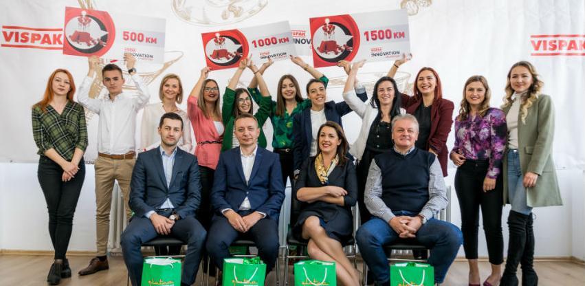 """Svečanim proglašenjem pobjednika završen prvi """"Vispak Innovation challenge"""""""