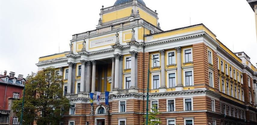 Univerzitet u Sarajevu među 5% najboljih na svijetu