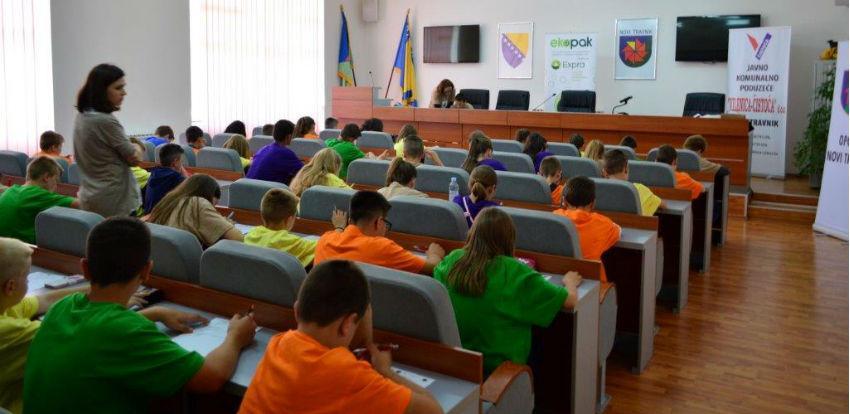 Ekopak sa mališanima Novog Travnika obilježio Svjetski dan zaštite okoliša