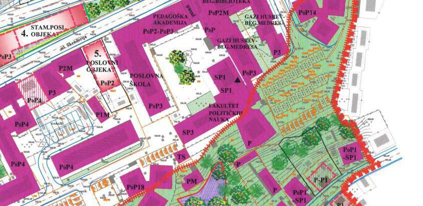Općina Centar mijenja RP: Gradit će se stambeno-poslovni objekti