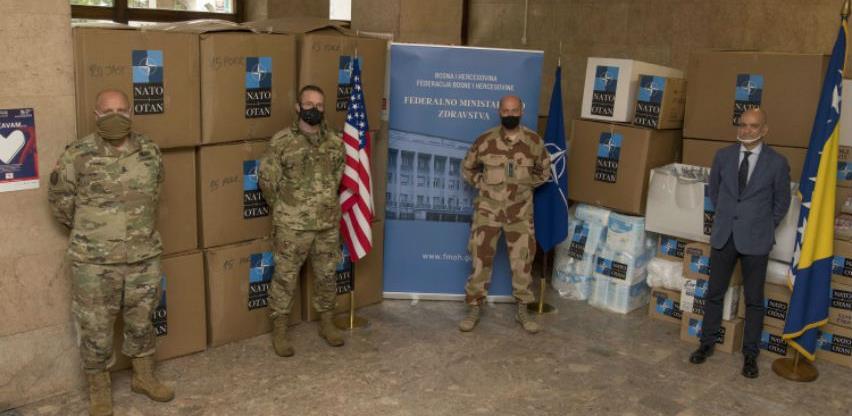 SAD i NATO dostavili BiH dodatne količine opreme za borbu protiv pandemije