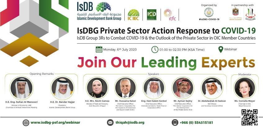 Webinar: IsDB i Thiqah predstavljaju program vrijedan 2,3 milijarde USD