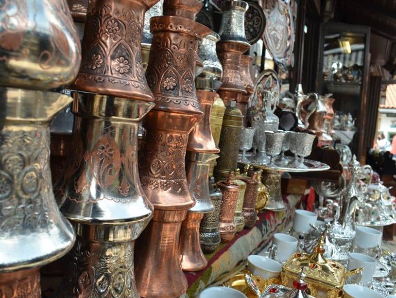 Slab interes turista za tradicionalne suvenire s Baščaršije