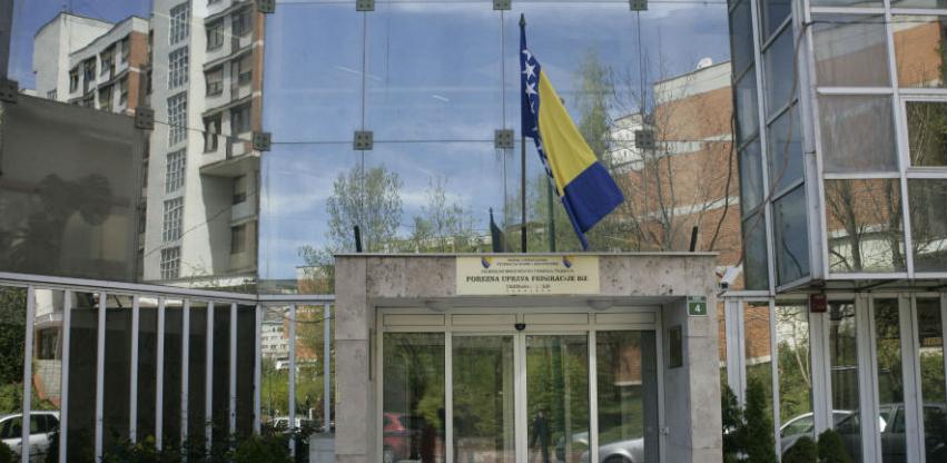 Porezna uprava FBiH - Naplata javnih prihoda veća za 7,41 posto