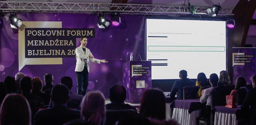 Na Poslovnom forumu menadžera u septembru o liderstvu u doba krize