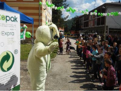 Maskota Zekopak podučava djecu o važnosti recikliranja ambalažnog otpada