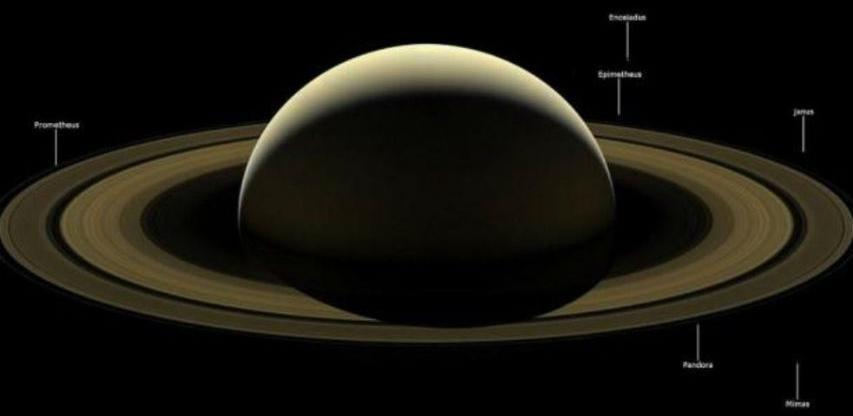 NASA otkrila mjesto pada letjelice Kasini