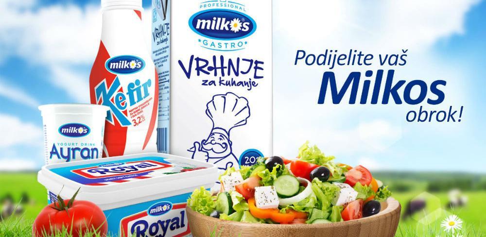 Milkos poklanja - Podijelite vaš Milkos obrok!