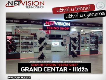 Novi Netvision Tehno Shop u Grand centru na Ilidži