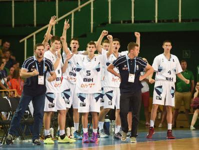 Kadeti BiH prvaci Evrope u košarci