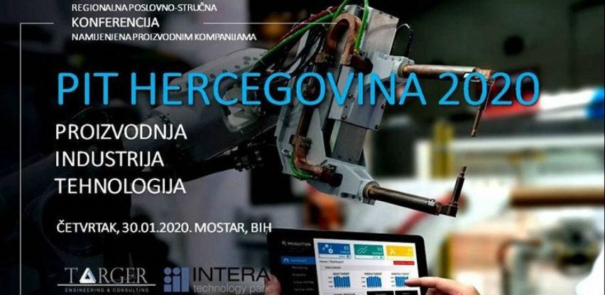 PIT Hercegovina 2020. - Konferencija namijenjena proizvodnim kompanijama