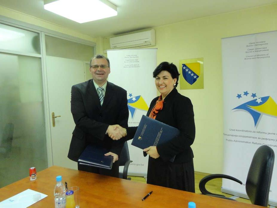 Potpisan ugovor za implementaciju projekta Rodno odgovorno budžetiranje