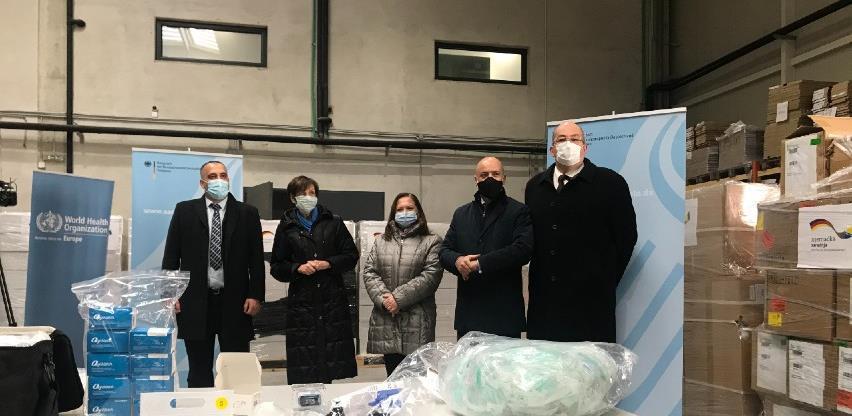 Njemačka donirala opremu za terapiju kisikom bh. zdravstvenim ustanovama