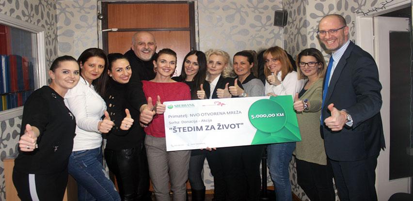 Sberbank BH donirala 5.000 KM Otvorenoj Mreži