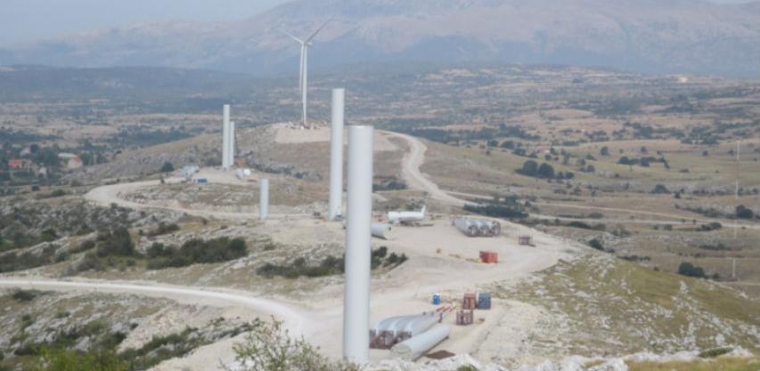 U srijedu s radom kreće prva vjetroelektrana u Bosni i Hercegovini