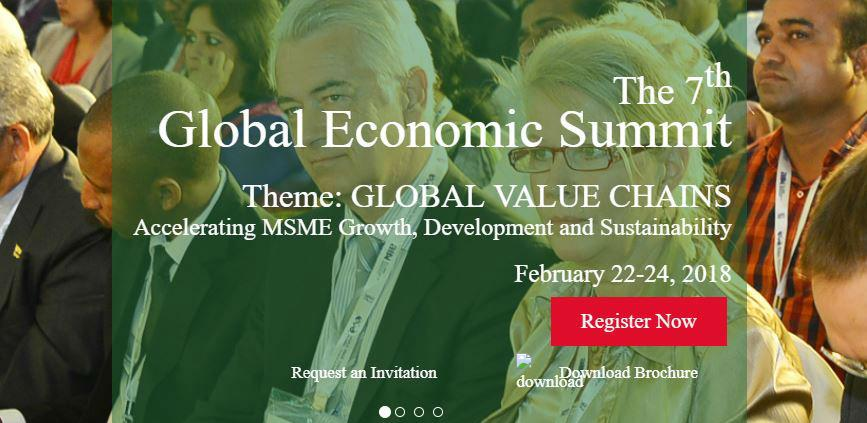 """Global Economic Summit"" u Indiji"