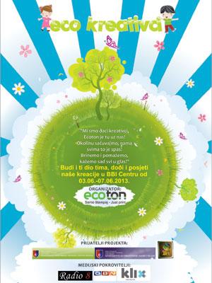 Ecoton projektom Eco kreativci obilježava dan zaštite okoliša