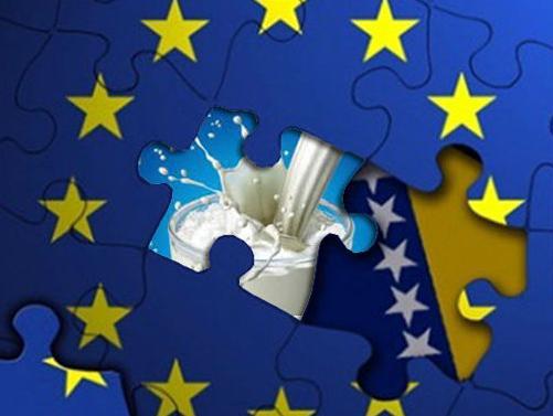 Odbijen prigovor Hrvatske: Od sutra izvoz mlijeka iz BiH u EU