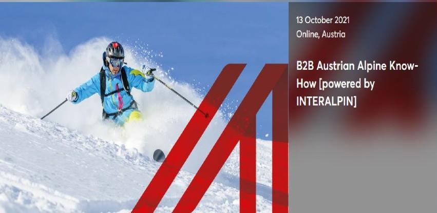 Online event: Alpske tehnologije i turistička infrastruktura