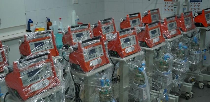 Vlada KS dala saglasnost za nabavku respiratora i upošljavanje neophodnog kadra