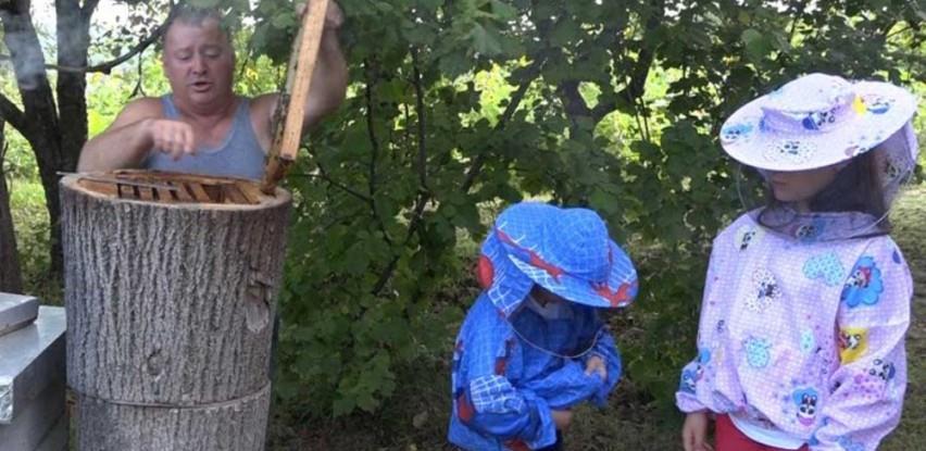 Amina i Ahmed, brat i sestra, najmlađi pčelari u BiH