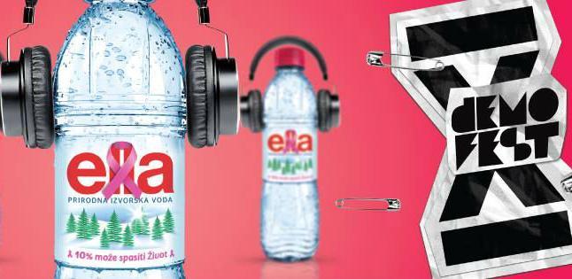 Ella jedan od sponzora najvećeg muzičkog festivala u BiH - Demofest