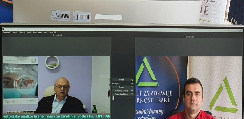 """Na međunarodnom skupu o mjeriteljstvu predstavljen """"One health"""" koncept rada INZ"""