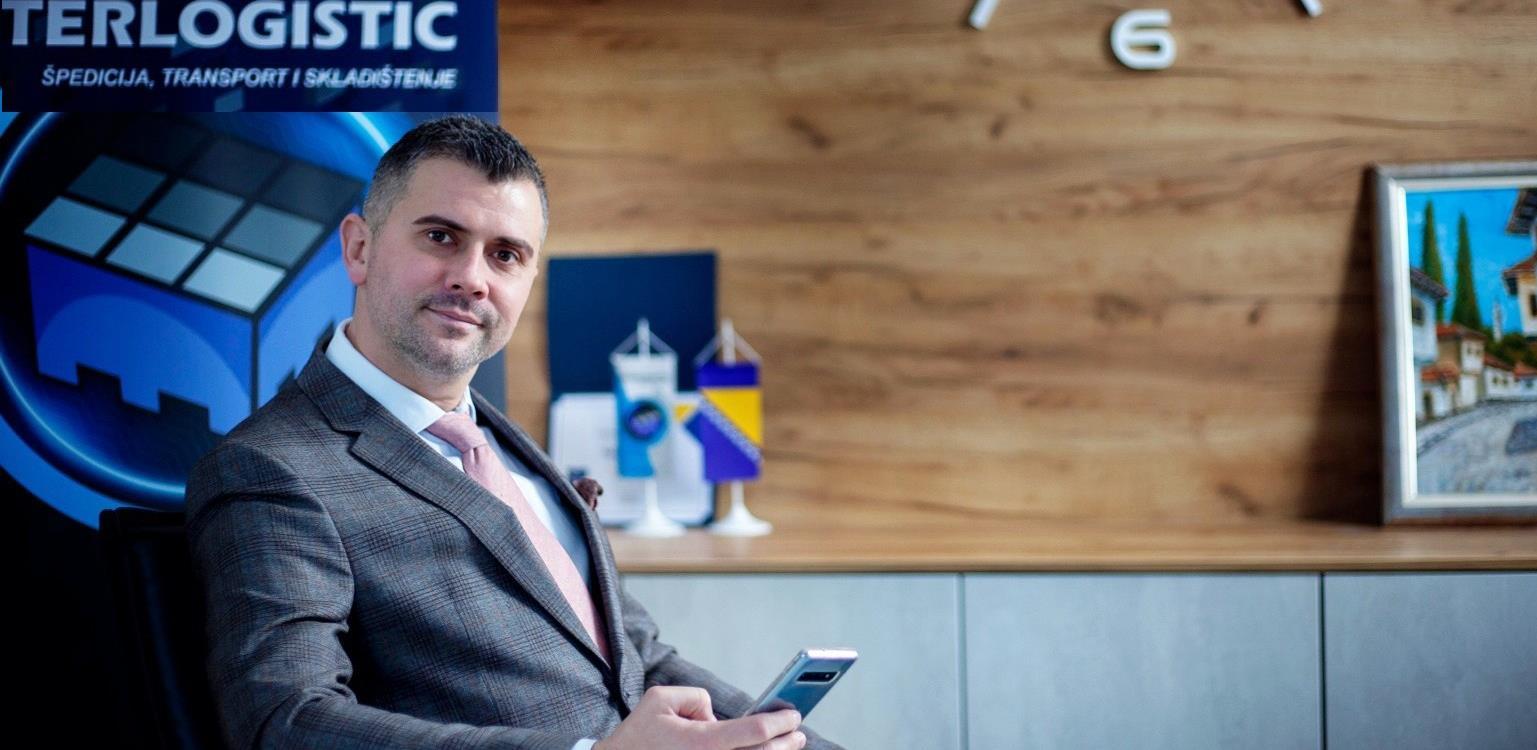 Nedžad Turnadžić: Vizionarske ideje i ozbiljni projekti kompletne logističke usluge