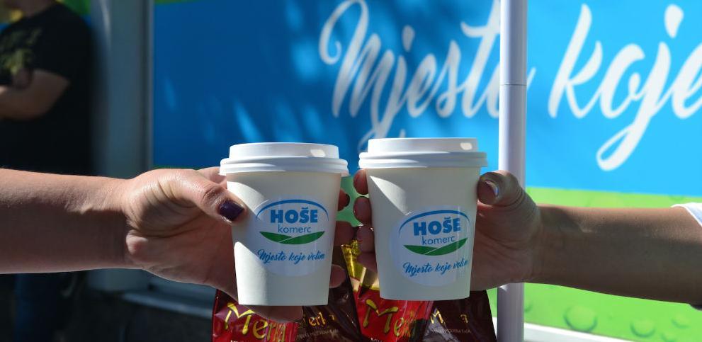 Coffee to go poklonom Hoše komerc obilježio Međunarodni dan kafe